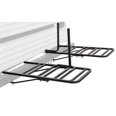 2 4 bike rv travel trailer bumper mount bicycle rack