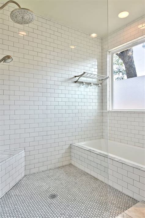 white glass mini subway tile shower walls subway tile outlet subway tiled shower transitional bathroom avenue b