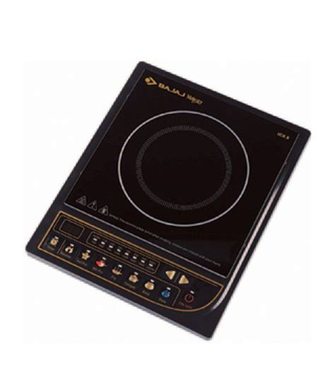 induction cooker with price bajaj induction cooker majesty icx 8 available at snapdeal for rs 3350