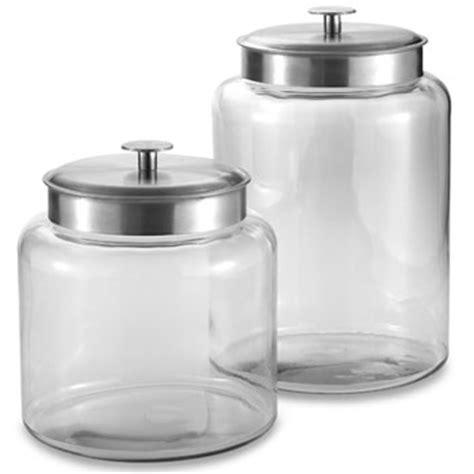 bathroom jars with lids good better best glass display jars popsugar home