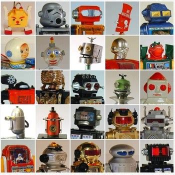 vintage toy robot head gallery boing boing