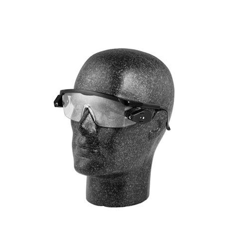 safety glasses for led lights glenwear safety glasses with led side lights