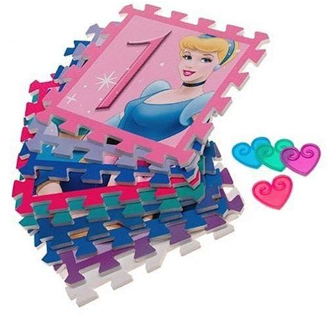 Disney Princess Hopscotch Foam Floor Mat - disney princess deluxe hopscotch foam floor mat