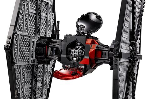 Lego Starwars Tie Fighter lego wars order special forces tie fighter 75101 4 the family brick