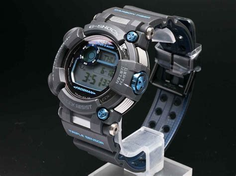 Casio G Shock Frogman Gwf D1000b 1jf With Water Depth Sensor Jdm Origi live photos g shock frogman with water depth sensor gwf d1000b 1jf casio news parts