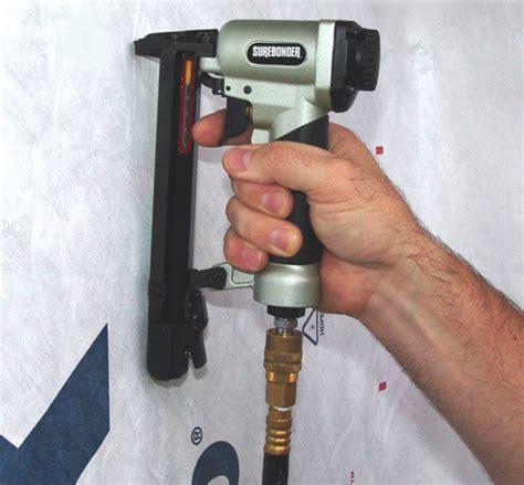 professional pneumatic stapler staple gun tool home repair
