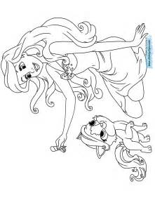 disney palace pets printable coloring pages disney