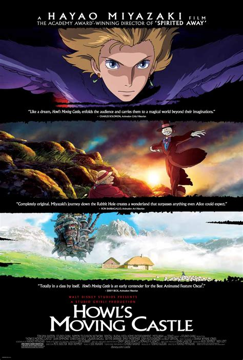 posters howls moving castle nausicaanet