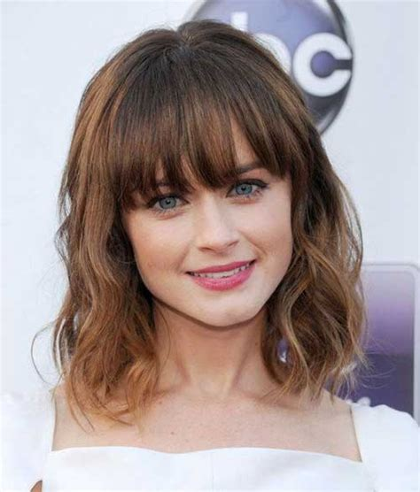 Hairstyles Hair With Bangs by 25 Hairstyles With Bangs Hairstyles