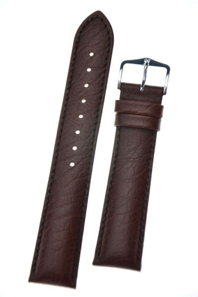 Brown Leather L Hirsch Highland L Brown Leather 19mm 04302010 2 19