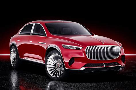 vision mercedes maybach ultimate luxury suv concept