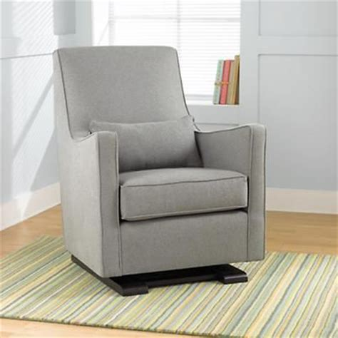 nursery rocker and ottoman nursery gliders heather grey upholstered monte luca