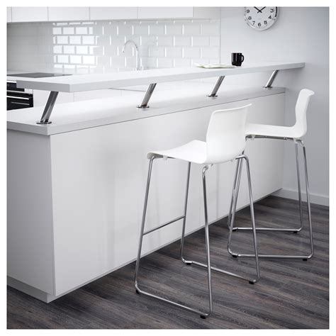 bar and bench website glenn bar stool white chrome plated 77 cm ikea