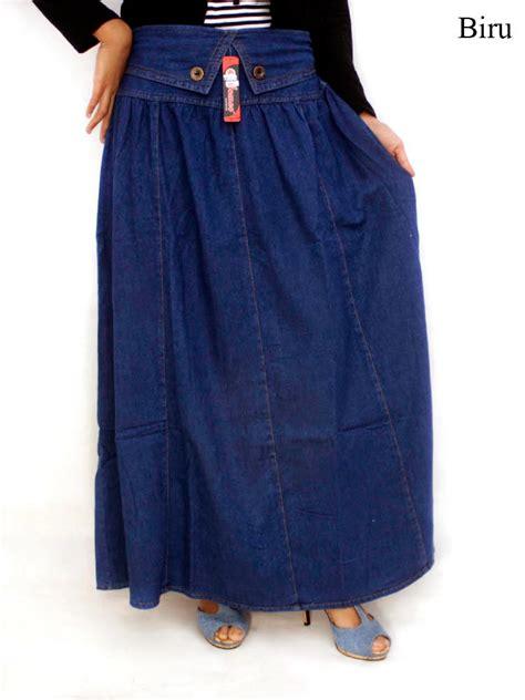 Celana Jumbo Wanita Denim Panjang Pen rok panjang ukuran jumbo holidays oo