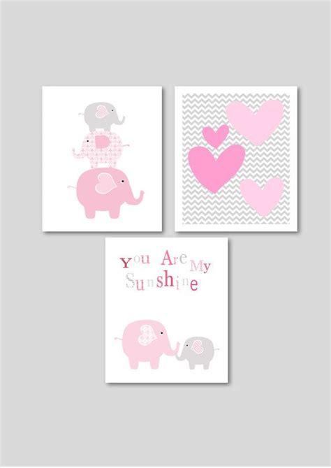 printable elephant nursery wall art 26 best pink elephants for jocelynn images on pinterest