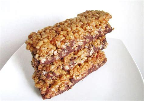 protein rice peanut butter protein rice crispy treats recipe dishmaps