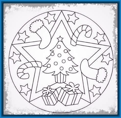 dibujos de navidad mandalas para colorear ver mandalas de navidad para imprimir y colorear archivos