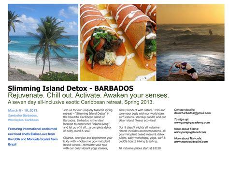 Detox Island by Island Detox In Barbados March 2013 Manuela Scalini