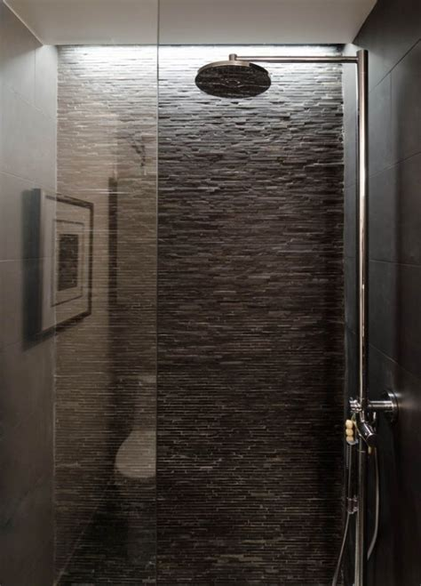stone bathroom showers wet room texture loft ideas pinterest wet rooms