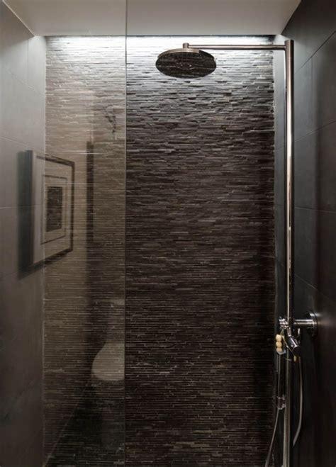 stone bathroom showers wet room texture loft ideas pinterest grey love