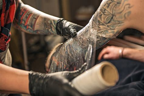 what to do after a tattoo aftercare essential guide chosen