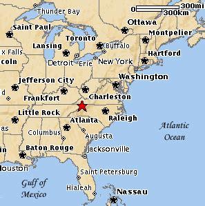 mapquest atlanta usa east usa map