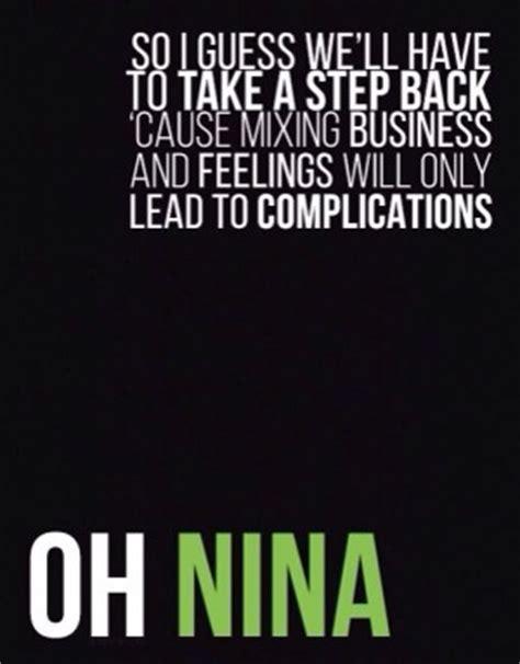 Ed Sheeran Nina Lyrics | nina ed sheeran lyric quotes quotesgram