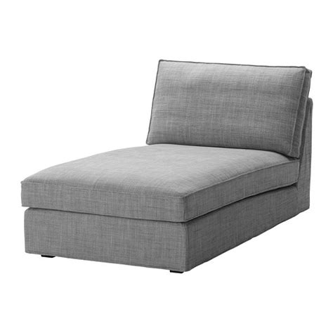 kivik chaise cover kivik chaise cover isunda gray ikea