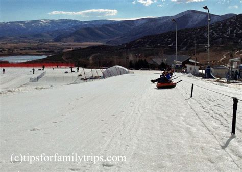 boat driving age utah big thrills on soldier hollow s snow tubing hill