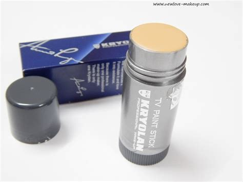 kryolan tv paint stick foundation review swatches new