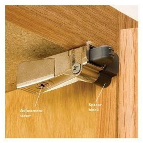 No Slam Cabinet Hinges by Blumotion Hinge Adapter Compact W Spacer 5 Pack