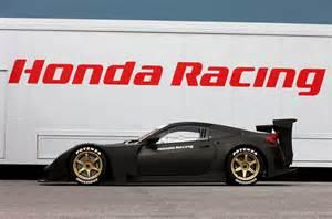 Honda Race Cars Defunct Acura Nsx Successor Reborn As Honda Hsv 10 Gt Race Car