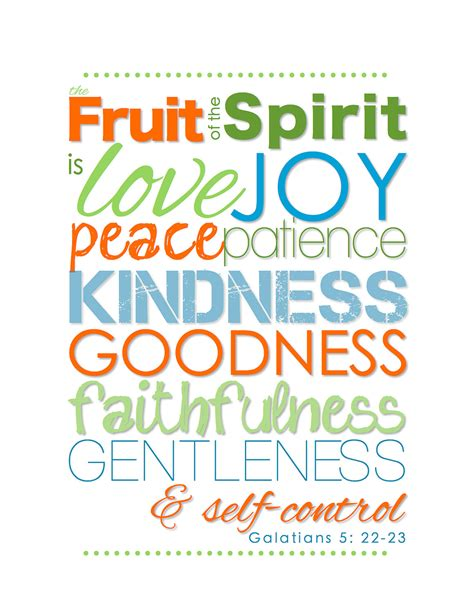 5 fruits of the spirit fruit of the spirit introduction and guidelines