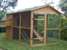 Backyard Chickens Melbourne Chicken Coop Cat Enclosure Rabbit Hutch Cage Run Extra