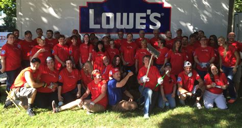 lowes boise idaho lowe s employees remodel space at the wca idaho business