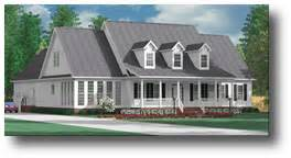 Houseplans Biz One Story house plans by southern heritage home designs downstairs