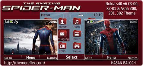 spiderman themes for nokia c3 the amazing spider man theme themereflex
