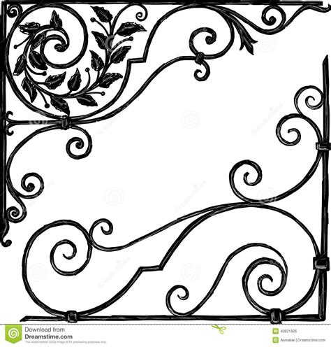 decorations drawings architectural decorations stock vector image of ornament