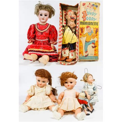 bisque doll composition lot 506 bisque composition and celluloid doll and