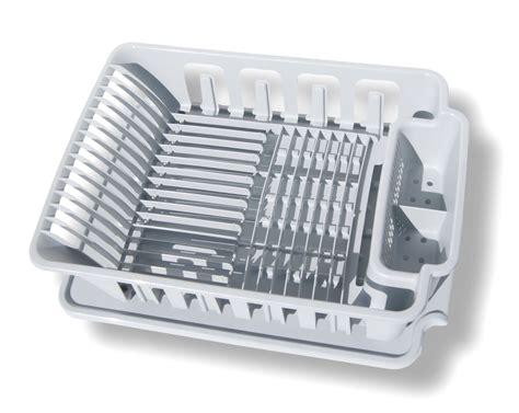 Sterilite 2 Large Sink Set Dish Rack Drainer Gray Ebay