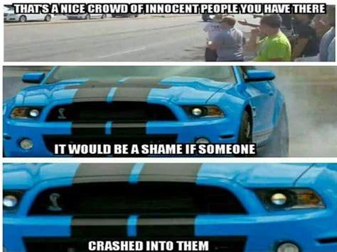 Ford Mustang Memes - cleetus garage on mustang hitting crowds video dpccars