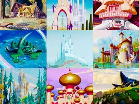 film disney home can you remember where these disney characters live