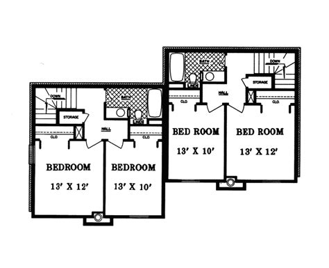 davis rustic duplex plan 055d 0866 house plans and more multi family house plan second best free home design