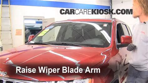 repair windshield wipe control 2011 jeep grand cherokee electronic toll collection front wiper blade change jeep grand cherokee 2011 2015 2011 jeep grand cherokee limited 3 6l v6