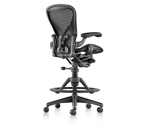 herman miller aeron bar stool aeron stool counter stools from herman miller architonic
