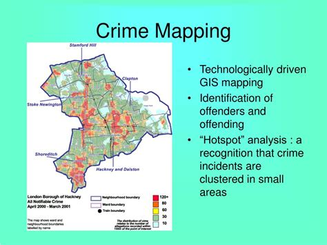hotspot pattern analysis ppt social disorganization and ecological criminology