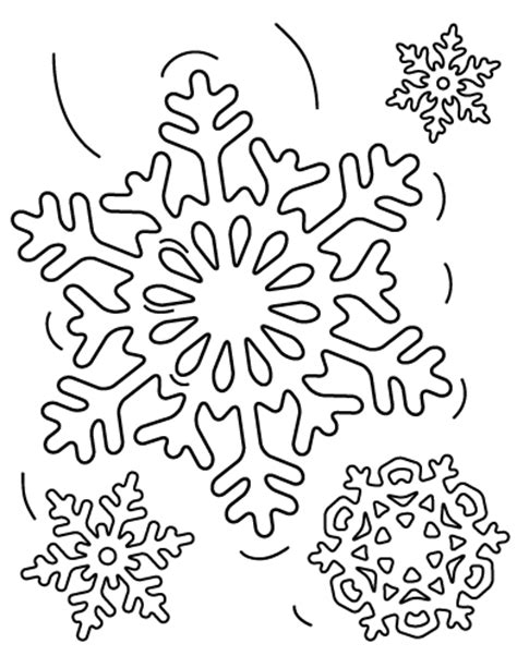 snowflake coloring page free snowflake coloring pages bestofcoloring com
