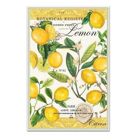 Lemon Kitchen Towels by Lemon Kitchen Towel By Michel Design Works
