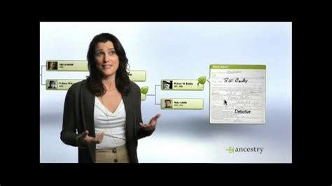 ancestrycom tv spot detective ispottv