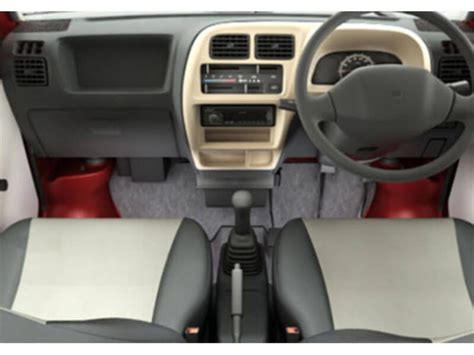 Maruti Eeco 7 Seater Interior View by Maruti Eeco 5 Str With A C Htr Price Specifications